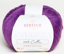 Sirdar Snuggly 100% Cotton DK 50g - 756 Purple